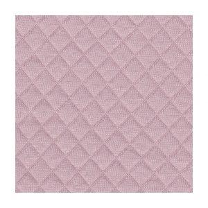Tissu jersey matelassé rose au mètre