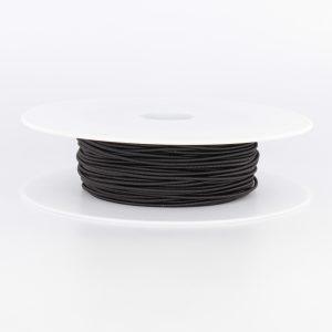 Cordon élastique 1,5 chapeau noir