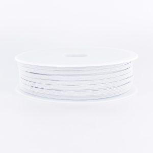Elastique tubulaire blanc 10g