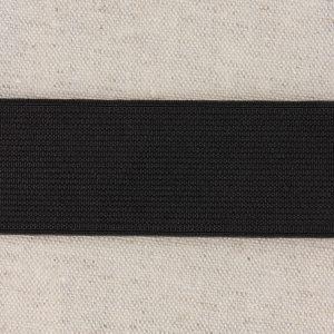 Elastique cotelé 35mm noir