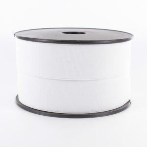 Elastique cotelé 35mm blanc