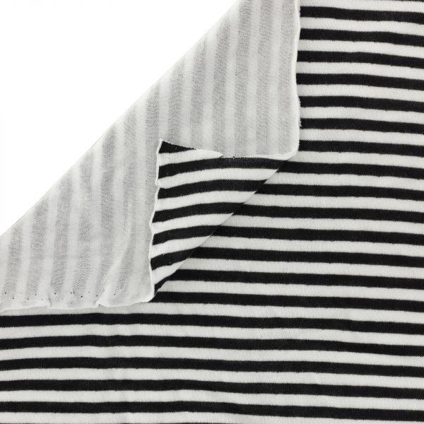 Fantasy knitwear double face Stenzo Rayé 150cm