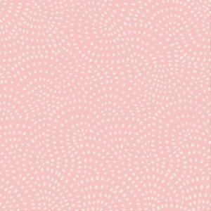 Tissu coton twist blush 110cm au mètre