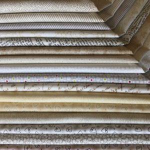 Coupon 50 x 110 cm beige/gris