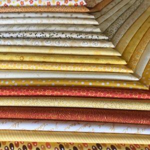 Coupon50 x 110 cm jaune/oran