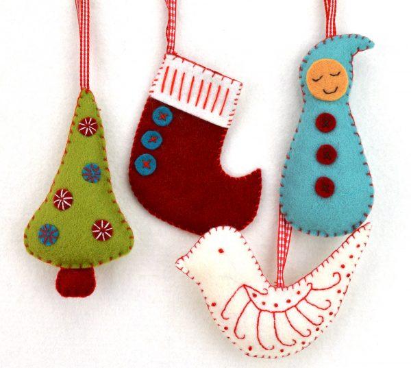 Kit feutrine Bientôt Noël