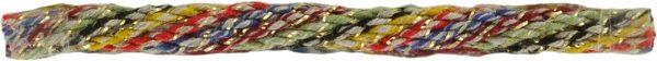 Cordon Multicolor et Doré 5 mm