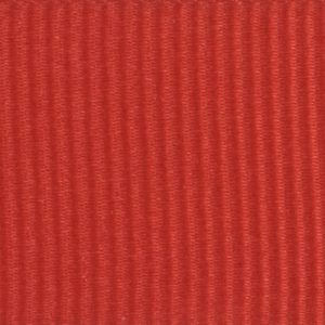 Ruban gros grain polyester rouge 01