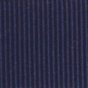 Ruban gros grain polyester bleu marine 01