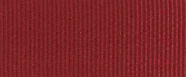 Ruban gros grain polyester bordeaux 01