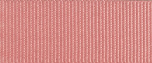 Ruban gros grain polyester vieux rose 01