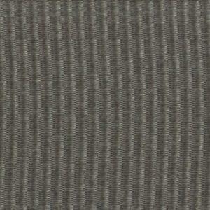 Ruban gros grain polyester gris foncé
