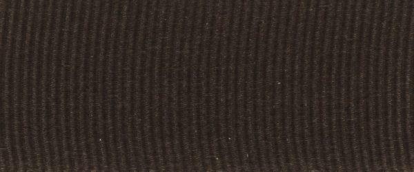 Ruban gros grain polyester noir 02