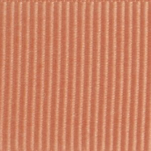 Ruban gros grain polyester saumon 01