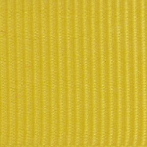 Ruban gros grain polyester jaune 01
