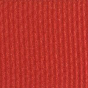 Ruban gros grain polyester rouge 02