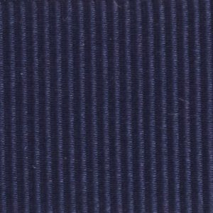 Ruban gros grain polyester bleu marine 02