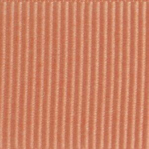 Ruban gros grain polyester saumon 02