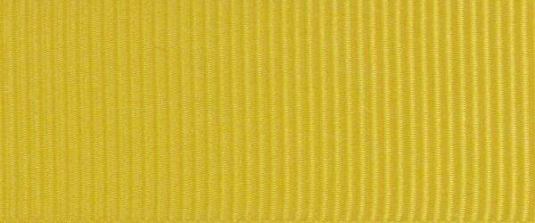 Ruban gros grain polyester jaune 02
