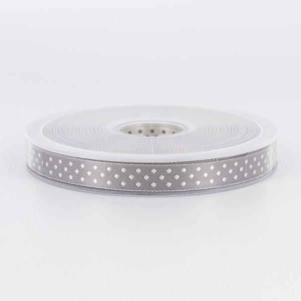Galon ELOISE gris blanc 10mm
