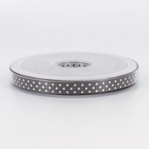 Galon ELOISE gris noir 10mm