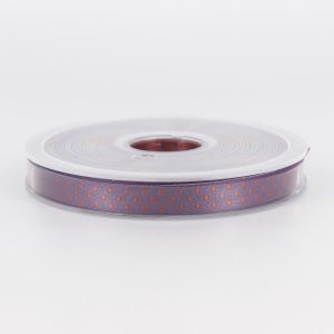 Galon ELOISE violet marron 10mm