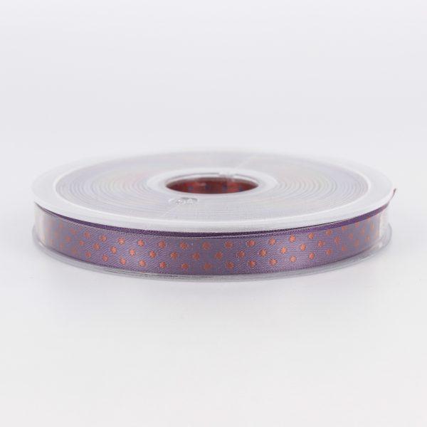 Galon ELOISE violet marron 10mm
