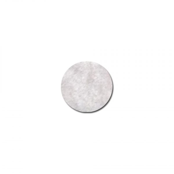 Renfort  7x9,5cmsouplesse thermocollant x2 gris clair