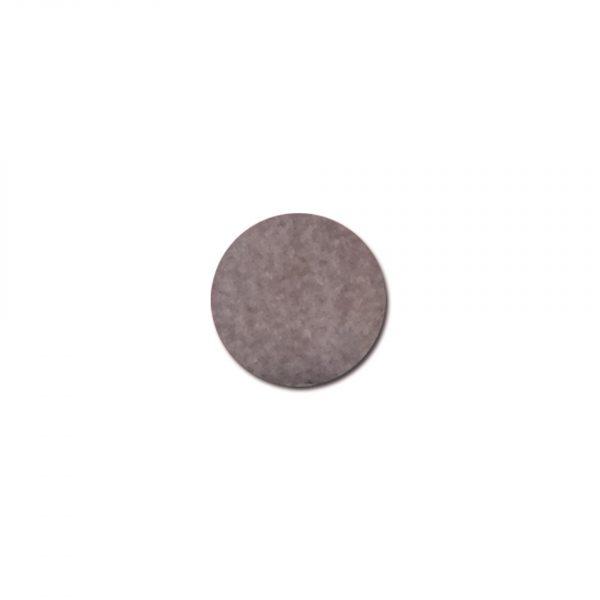 Renfort  7x9,5cmsouplesse thermocollant x2 gris foncé