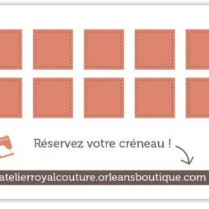 Carte de location de L Atelier Royal Couture