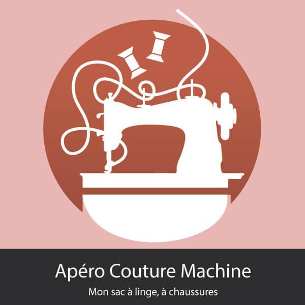 Mon sac à linge, à chaussures -Apéro Couture Machine