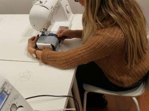 Atelier couture machine débutant