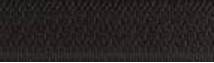 fermeture laiton non séparable noir 460
