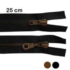 Fermeture Laiton séparable Z19 25 cm
