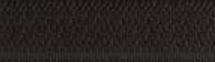 Fermeture maille spirale non séparable Z51 noir 460
