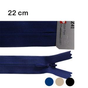 fermeture nylon invisible