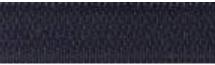 Fermeture maille métallique non séparable Z 13 Bleu marine