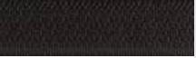 Fermeture maille métallique non séparable Z 13 Noir