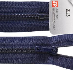 Fermeture maille métallique non séparable Z 13 12 cm Bleu marine 570