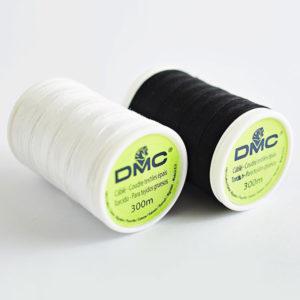 fil a coudre sablé coton en 40 noir