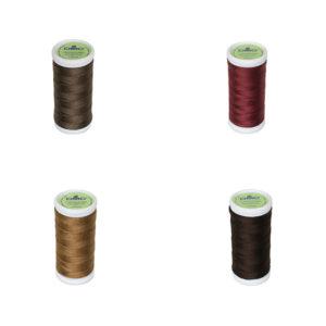 Le Fil à coudre tissus légers 100% coton DMC brun