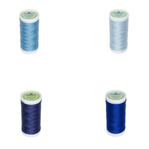 Le Fil à coudre tissus légers 100% coton DMC ble