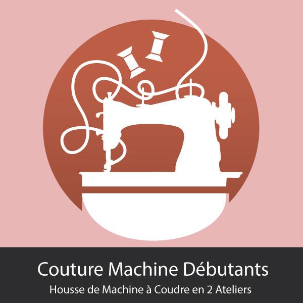 Housse de Machine à Coudre en 2 Ateliers