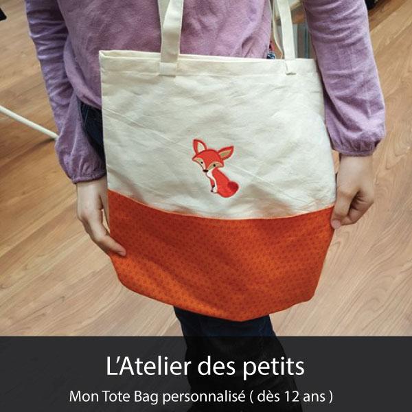 Mon Tote Bag personnalisé ( dès 12 ans )