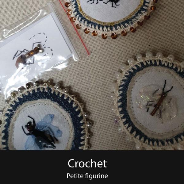 Crochet petite figurine