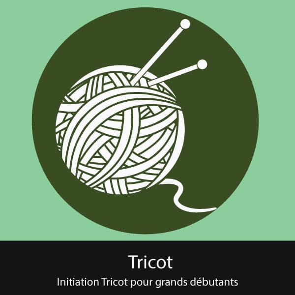 initiation tricot grands débutants