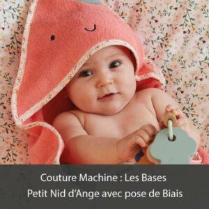 Atelier Petit Nid d'Ange avec pose de Biais Orleans